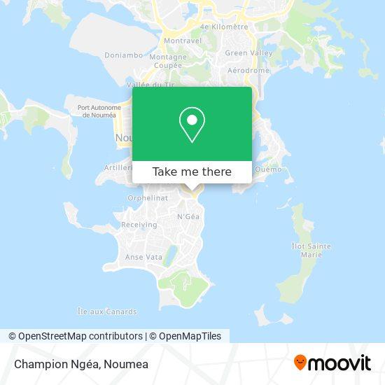 Champion Ngéa map