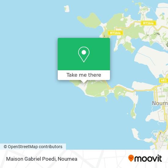 Maison Gabriel Poedi map