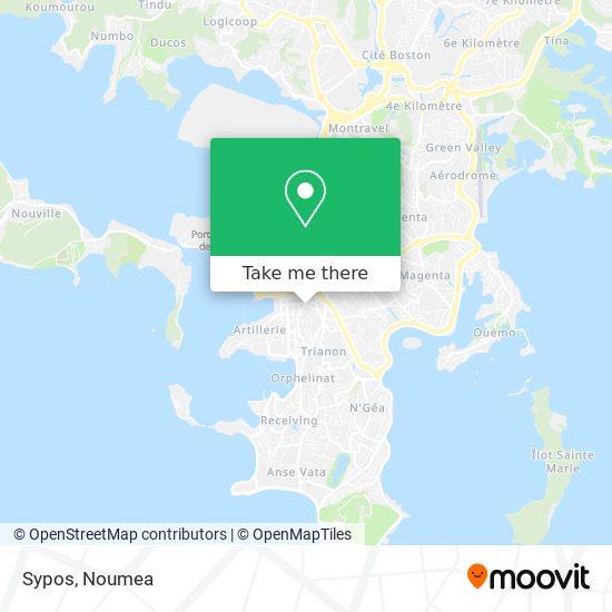 Sypos map