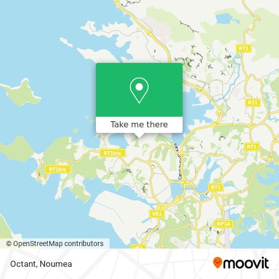 Octant map