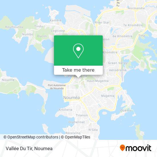 Vallée Du Tir map