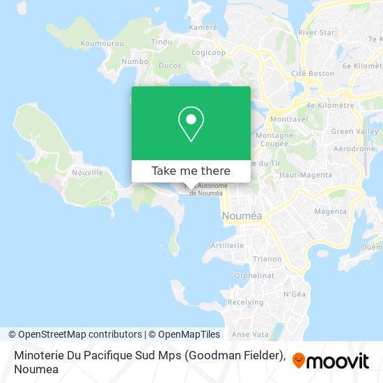 Minoterie Du Pacifique Sud Mps (Goodman Fielder) map