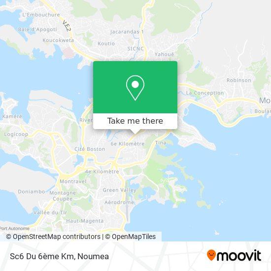 Sc6 Du 6ème Km map