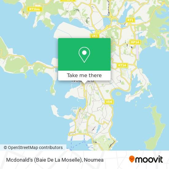Mcdonald's (Baie De La Moselle) map