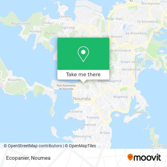 Eco Panier map