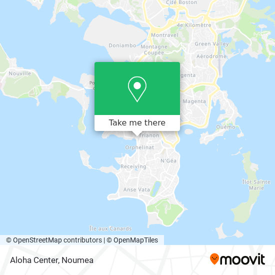 Aloha Center map