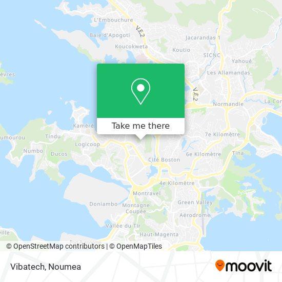 Vibatech Skf map