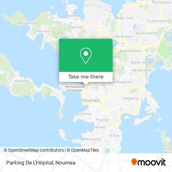 Parking De L'Hôpital map
