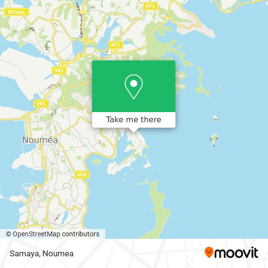 Samaya map
