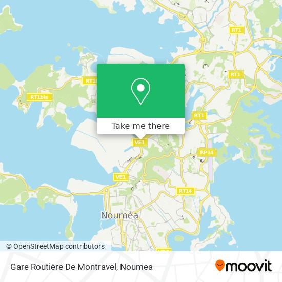 Gare Routière De Montravel map