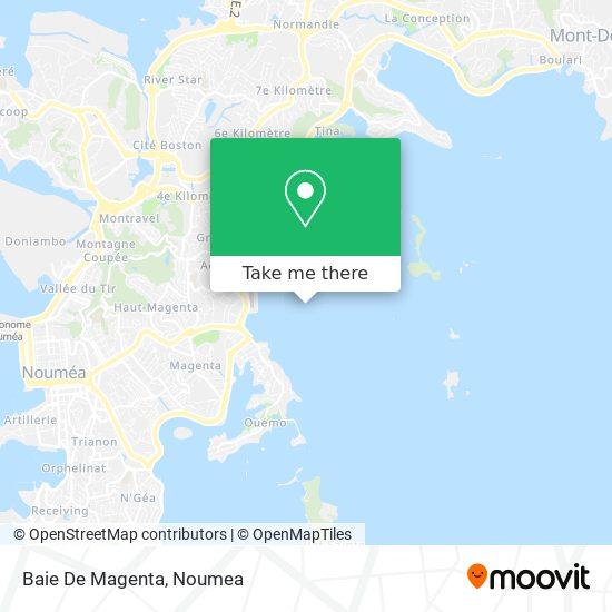 Baie De Magenta map
