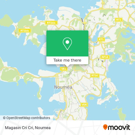 Magasin Cri Cri map