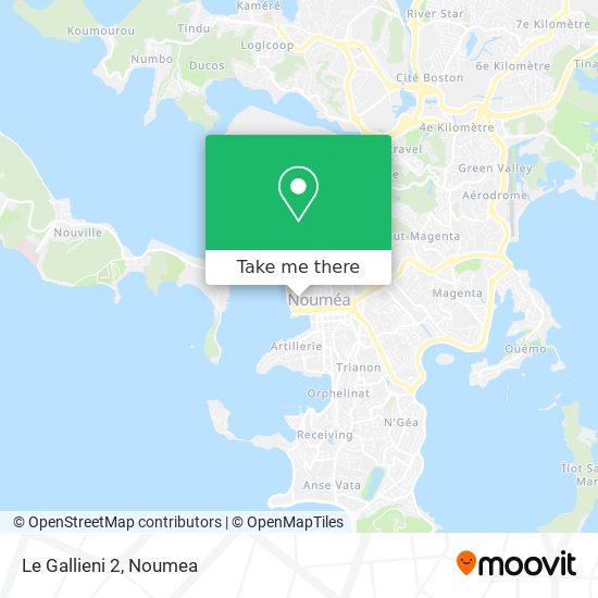 Le Gallieni 2 map