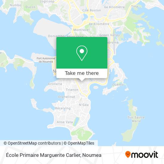 École Primaire Marguerite Carlier map