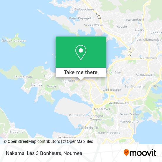 Nakamal Kava D'Or map