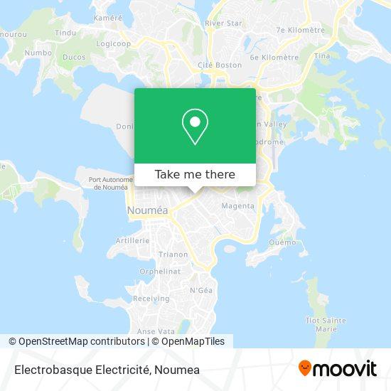 Electrobasque Electricité map