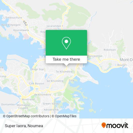Super Iaora map