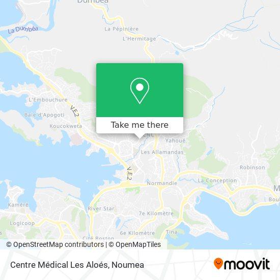Centre Médical Les Aloés map