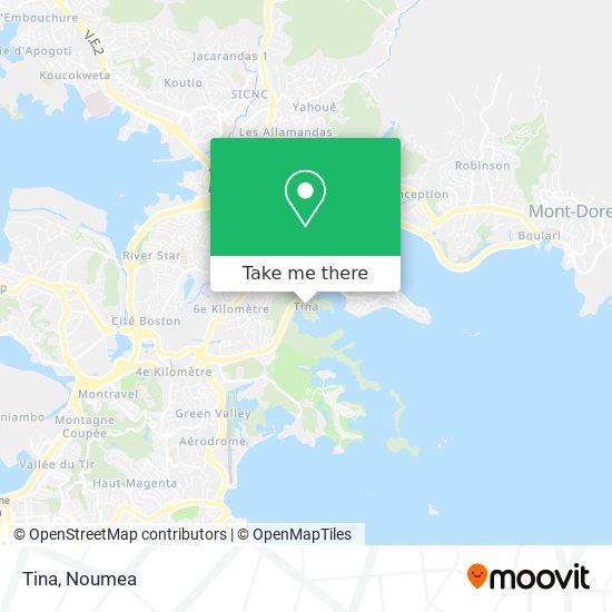 Tina map