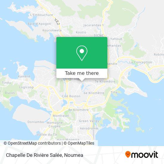 Chapelle De Rivière Salée map
