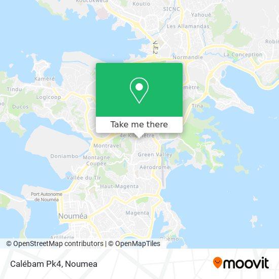 Calébam Pk4 map
