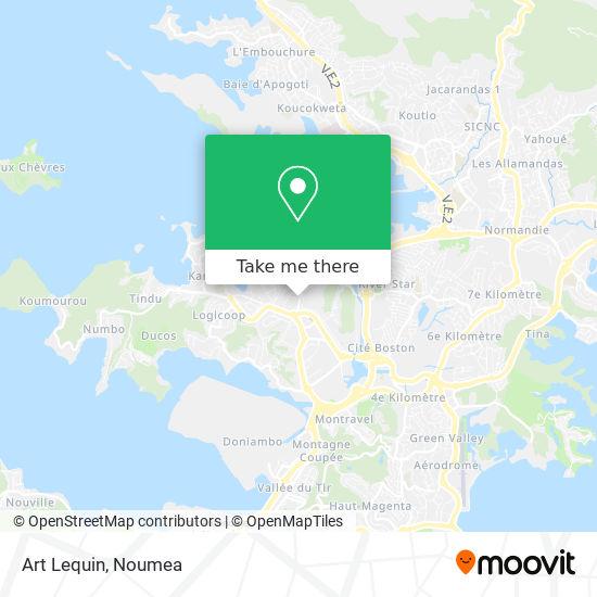 Art Lequin map