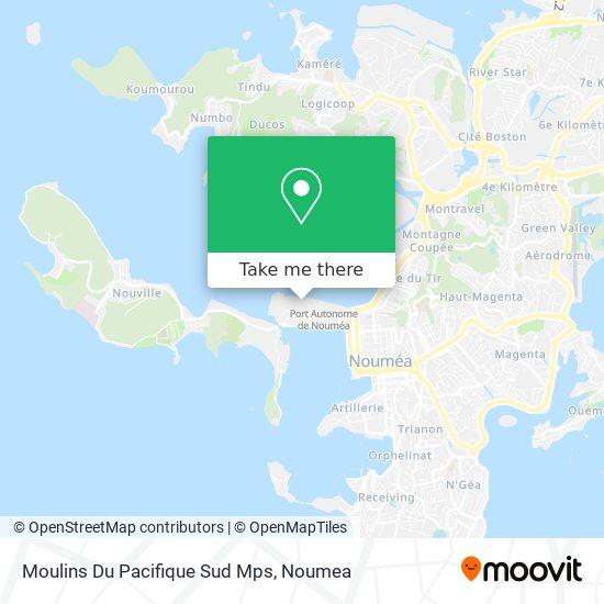 Moulins Du Pacifique Sud Mps map