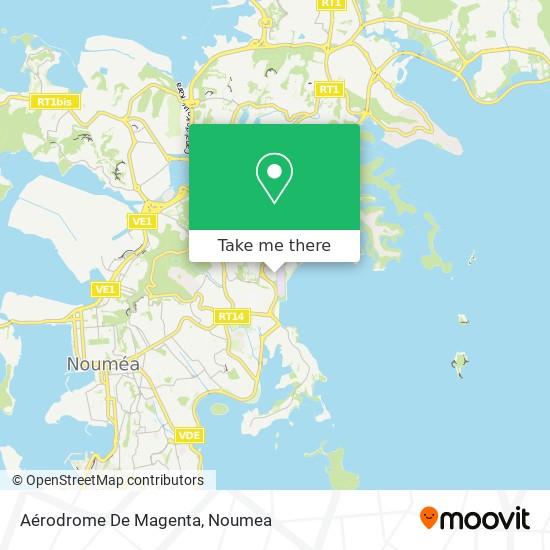 Aérodrome De Magenta map