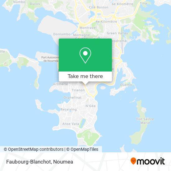 Faubourg-Blanchot map