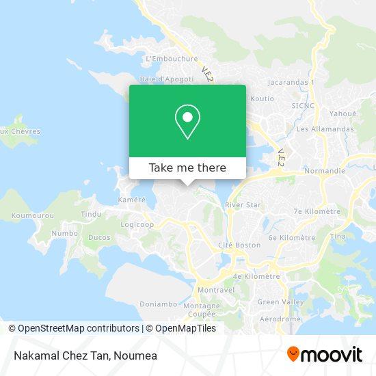 Nakamal Chez Tan map