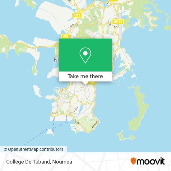 Collège De Tuband map
