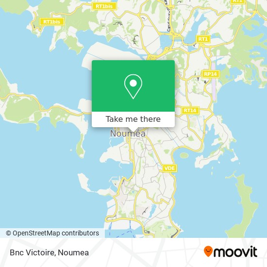Bnc Victoire map