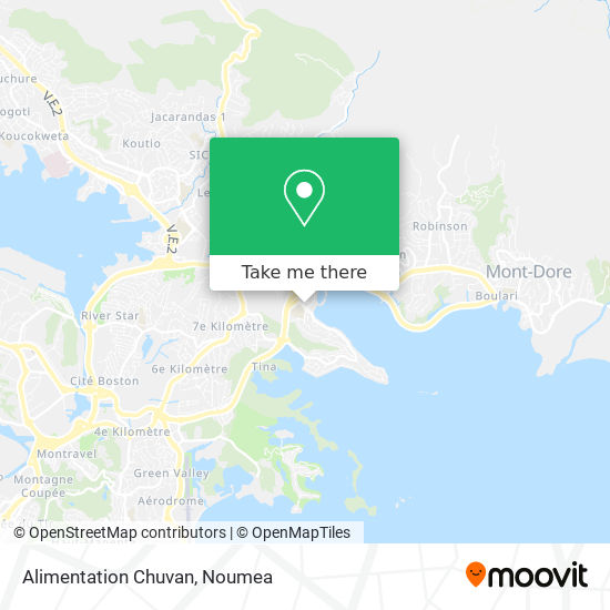 Alimentation Chuvan map