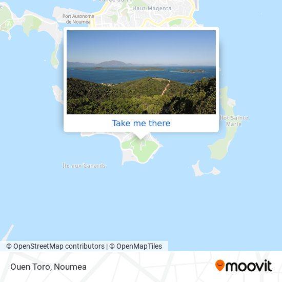 Ouen Toro map
