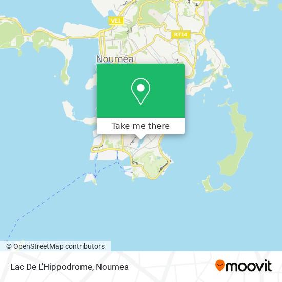 Lac De L'Hippodrome map
