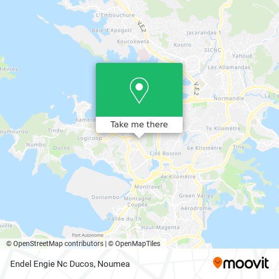 Endel Engie Nc Ducos map