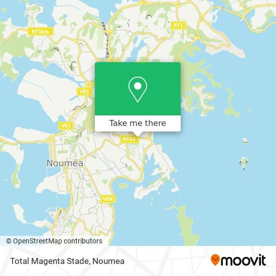 Total Magenta Stade map