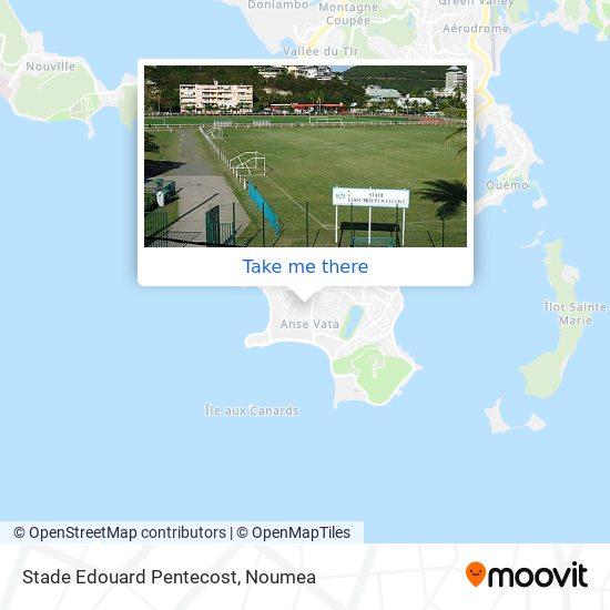 Stade Edouard Pentecost map