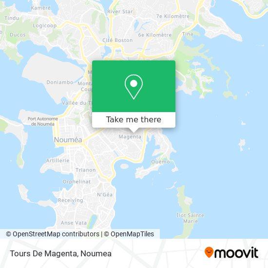 Tours De Magenta map