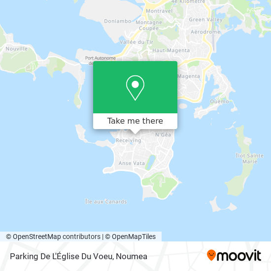 Parking De L'Église Du Voeu map