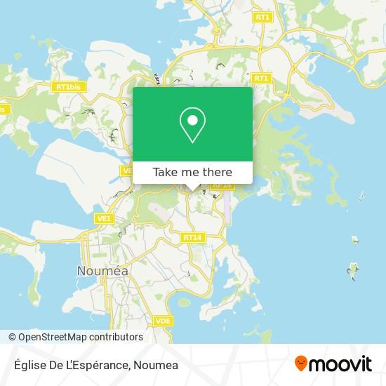 Église De L'Espérance map
