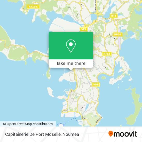Capitainerie De Port Moselle map