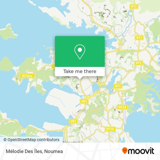 Mélodie Des Îles map