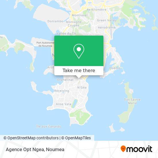 Agence Opt Ngea map