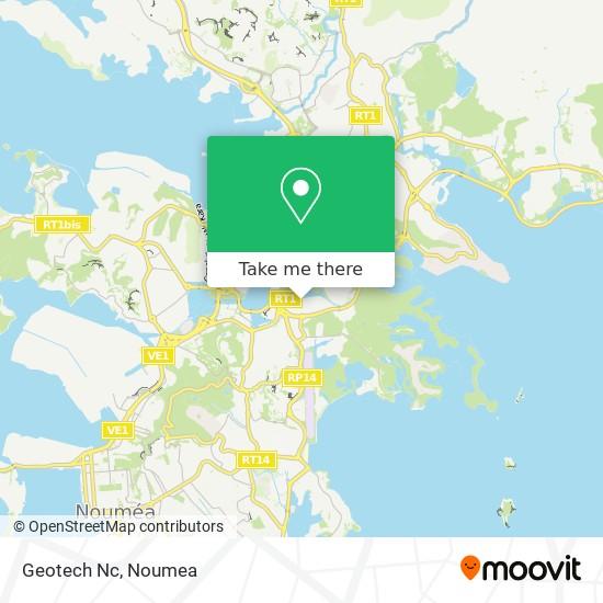 Geotech Nc map