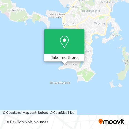 Le Pavillon Noir map