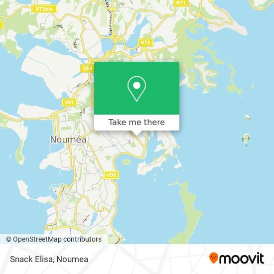 Snack Elisa map