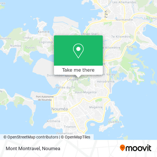 Mont Montravel map