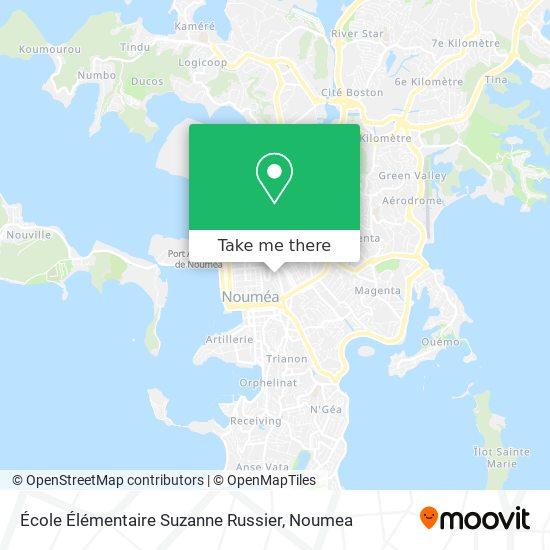 École Élémentaire Suzanne Russier map