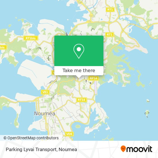 Parking Lyvai Transport map